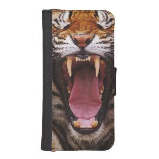 Tigre de Bengala, Panthera el Tigris 2 Funda Tipo Billetera Para iPhone 5