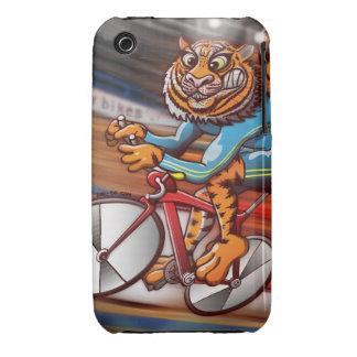 Tigre de ciclo iPhone 3 Case-Mate carcasa
