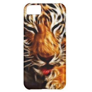 Tigre de Fractalius Carcasa Para iPhone 5C