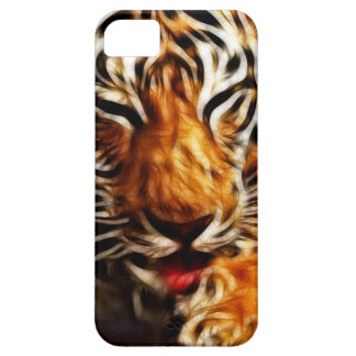 Tigre de Fractalius Funda Para iPhone SE/5/5s