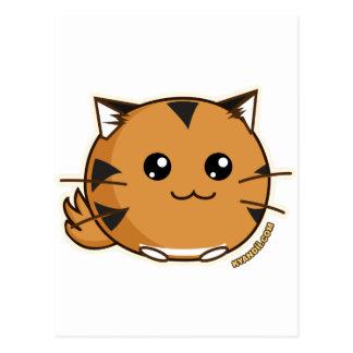 Tigre de Fuzzballs OMG Tarjeta Postal