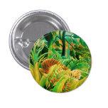 Tigre de Henri Rousseau en un botón tropical de la Pins