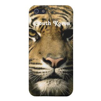 Tigre de la Corea del Sur iPhone 5 Carcasa