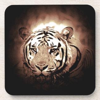 Tigre de la sepia posavasos