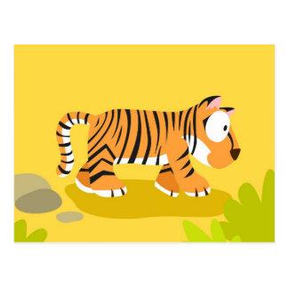 Tigre de mi serie de los animales del mundo postales