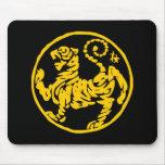 Tigre de Shotokan Mouse Pads
