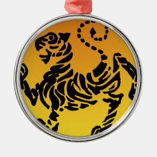 Tigre de Shotokan - oro Ornamentos De Reyes