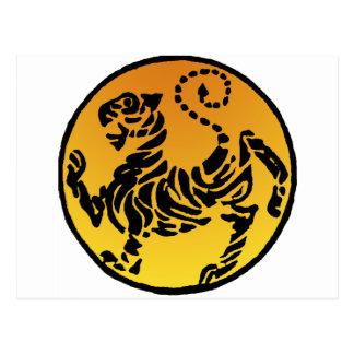 Tigre de Shotokan - oro Postal