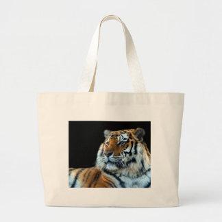 Tigre de Sumatran Bolsa Tela Grande