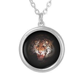 Tigre de Sumatran Colgante Redondo