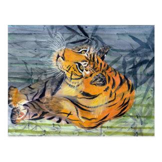 Tigre de Tsuyako Postales