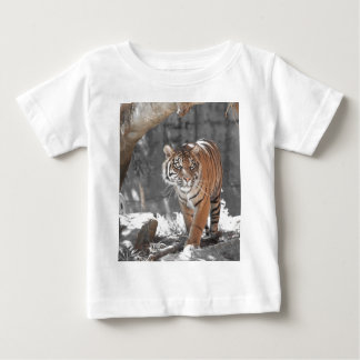 Tigre de vagabundeo remera