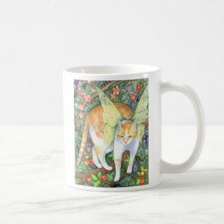 Tigre del árbol - taza de hadas del gato