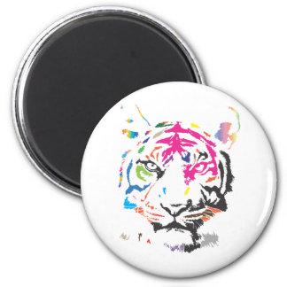 Tigre del arco iris imanes
