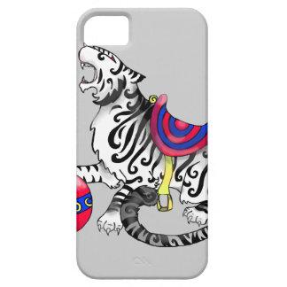 tigre del carrusel del caso del iPhone 5 iPhone 5 Funda