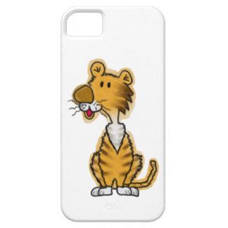 Tigre del dibujo animado iPhone 5 protector