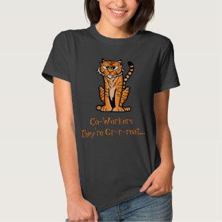 """Tigre del dibujo animado """"son GR-r-reat… """" Polera"""