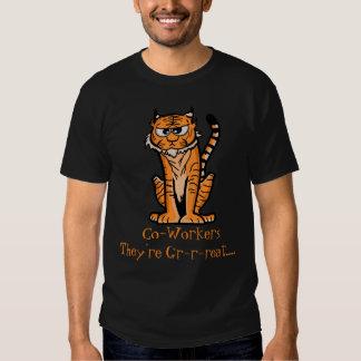 """Tigre del dibujo animado """"son GR-r-reat… """" Remeras"""