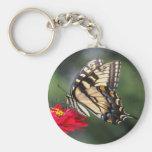 Tigre del este Swallowtail Llavero