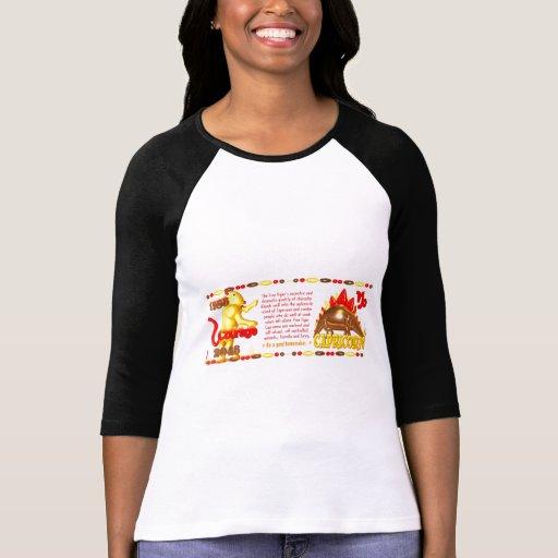 Tigre del fuego del zodiaco de 1986 chinos por Val Camiseta