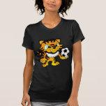 Tigre del fútbol camisetas