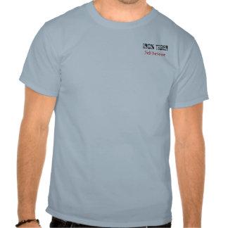 TIGRE del HIERRO, autodefensa Camisetas