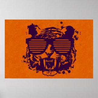 Tigre del inconformista posters