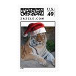 Tigre del navidad franqueo