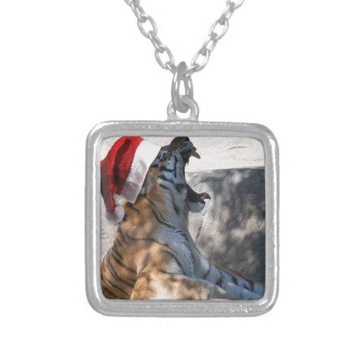Tigre del navidad pendiente