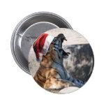 Tigre del navidad pins
