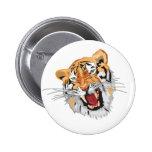 Tigre del rugido pin