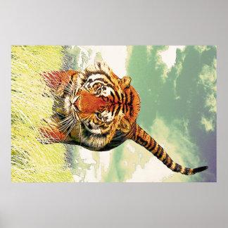 ¡Tigre del tigre! Póster