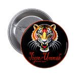 Tigre del Ummah Pin