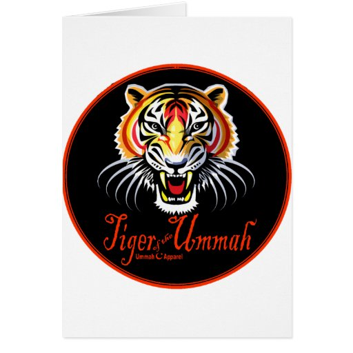 Tigre del Ummah Tarjeton