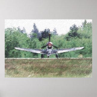 Tigre del vuelo - AVG Impresiones