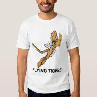 Tigre del vuelo playeras