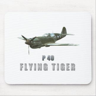 Tigre del vuelo alfombrilla de ratones