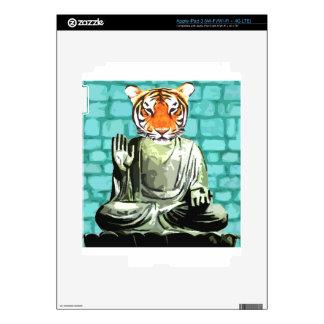 Tigre del zen iPad 3 pegatinas skins