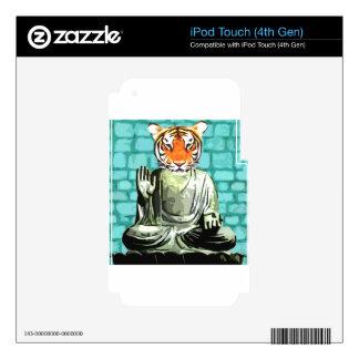 Tigre del zen iPod touch 4G calcomanías