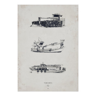 Tigre Delta: Ships Part Two Print