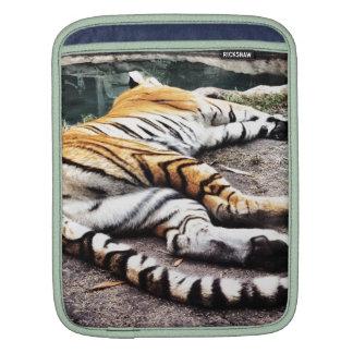 Tigre el dormir fundas para iPads