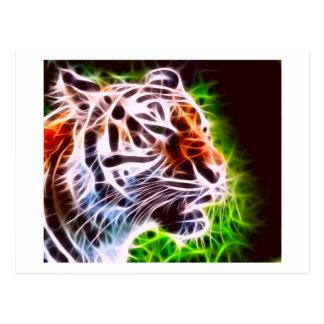 Tigre elemental postales