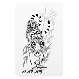 Tigre en el imán flexible del vagabundeo 2