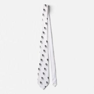 Tigre en llamas corbata personalizada