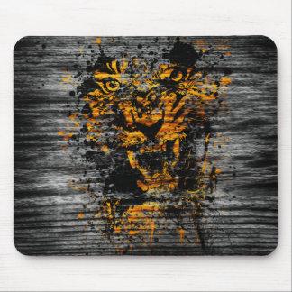 Tigre enojado alfombrillas de ratones