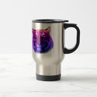 Tigre etéreo colorido taza térmica