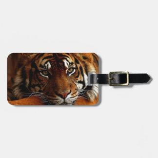 tigre etiquetas bolsa
