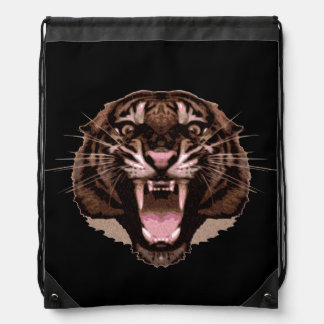 Tigre feroz mochila