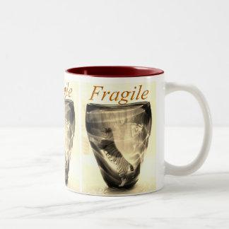 Tigre frágil tazas de café