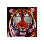 Tigre fresco postal